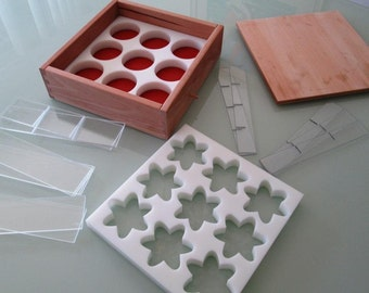 Deluxe Soap Mold - The One Mold - Acrylic Soap Mold // Wooden Soap Mold // HDPE Soap Mold // Silicone Soap Mold