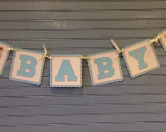 Teddy Bear Baby Banner