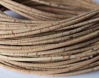 Cords Cork 3mm (1 meter) - Natural