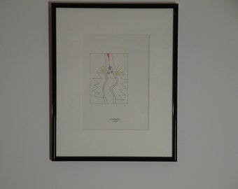 Alessandro Mendini - Three original and signed drawings