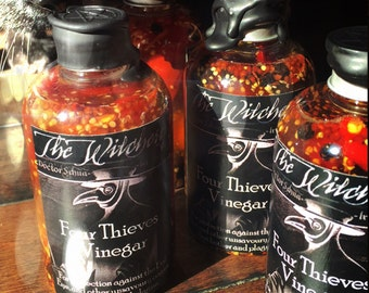 Four Thieves Vinegar ~ Witchcraft ~ ritual water ~ spells ~ ritual wash ~ protection