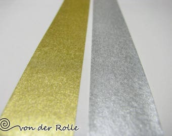 Masking tape 2 Pack gold silver