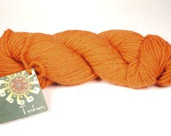 Mirasol yarn - orange yarn - luxury destash - baby llama yarn - knitting yarn - merino yarn - free shipping