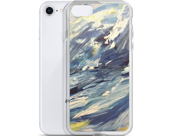 Blue Hues iPhone Case
