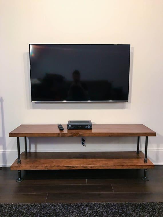 Industrial rústica del soporte TV rústica mesa de café