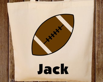 Football Tote Bag  -- Boys Tote Bag -- Kids Tote Bag  -- Football bag