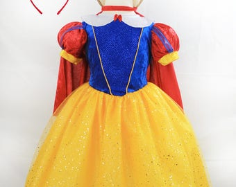 Snow White Princess Costume for Kids