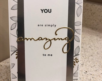 Simply Amazing Card
