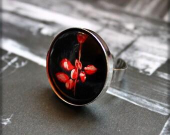 Depeche Mode Violator Ring handpainted