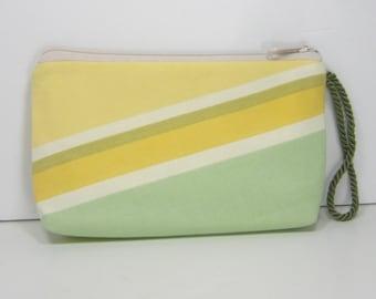 Summer Stripe, Montego Pouch Wristlet Wallet Cosmetic