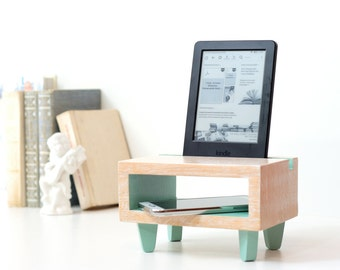 mothers day gift, desk organizer, tech gift, gift for her, charging station, ipad stand, womens gift, docking station, Anniversary gift