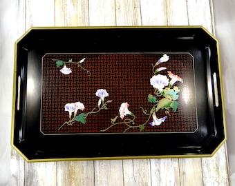 Vintage Japanese Laquerware Tray by Toyo