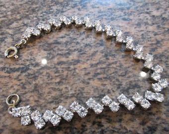 Vintage 1940's Diamante Bracelet - So BEAUTIFUL!!!