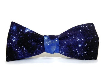 Planets Bow Tie/Star Bow Tie/Science Bow Tie/teacher gift/ Outer Space Bow Tie/Galaxy Bow Tie/Teacher Tie/Black Dog Bow Tie/men's. bow tie rV3fqA