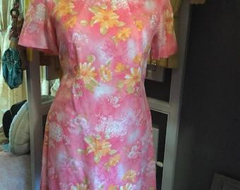 Floral 50's dress