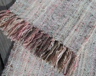 Handwoven Alpaca and Wool Scarf