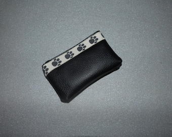 Wallet imitation leather with legs