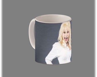 Dolly Parton Coffee Mug #1096