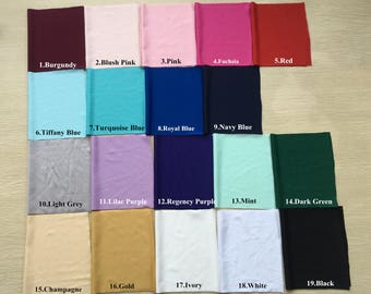 Spandex Color Swatches