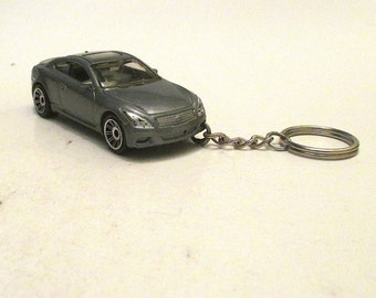 Infiniti G37 Coupe keychain, Die Cast keychain, Sports Car, Mens or Womens keychain, Mens or Womens gift