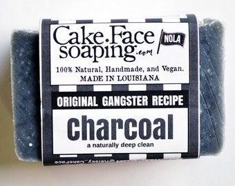 Charcoal soap natural vegan soap bar coconut soap for men handcrafted soap bar charcoal natural soap body wash face wash salt soap