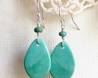 Campo Frio Turquoise Slice Earrings