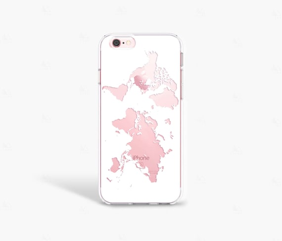 Travel gift iphone 8 case wanderlust gift world map phone gumiabroncs Gallery