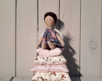 Tilda doll - Angel doll - Valentine Gift - Handmade - Vintage - Gift - Home decoration - Home decor