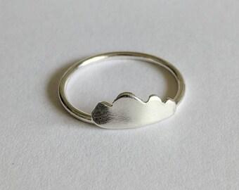 Handmade Cloud Ring
