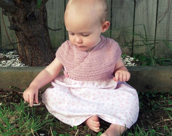 Download Now - CROCHET PATTERN Heartwarmer Cardigan - Baby and Toddler - Pattern PDF