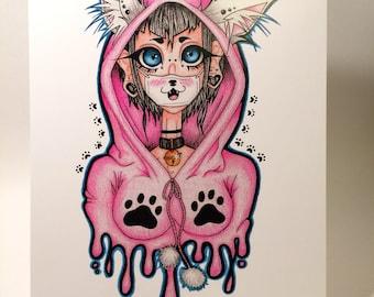 Crazy-Cute Cat Lady