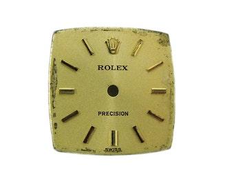 Vintage Rolex Precision Ladies Watch Dial Swiss