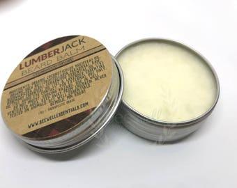 ORGANIC Cedarwood-infused Lumber Jack beard balm - leave in conditioner - beard tamer