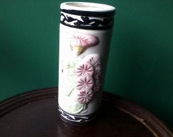 Vintage TIKI Orchids of Hawaii Geisha Asian Ceramic Vase