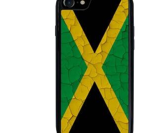 iPhone 5 5s 6 6s 6+ 6s+ SE 7 7+ iPod 5 6 Phone Case, Jamaica Flag Design, Jamaican, Plus