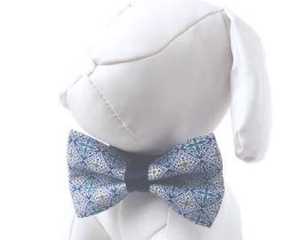 Mosaic Tile Bow Tie for Dog Collar - Fancy Dog Bow, Bow Tie for Dogs