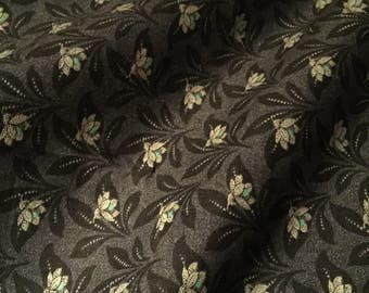 Civil War Fabric Jubilee by Barbara Brackman for Moda 8256 17 Mourning Gray 100% Quality Cotton