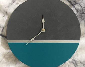 Large Wall Clock / Wall Clock / Wooden Clock / Handmade Wall Clock / Clock