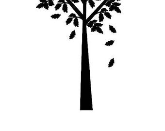 Sold unmounted tc006 tree stamp