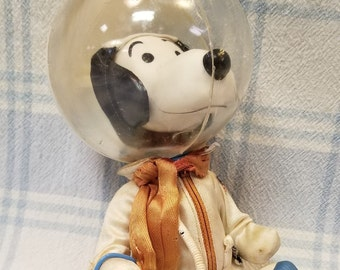 Rare Vintage Snoopy Astronaut Doll