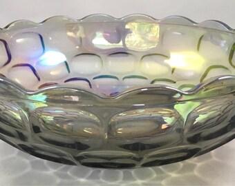 Beautiful Vintage Carnival Glass Iridescent Bowl