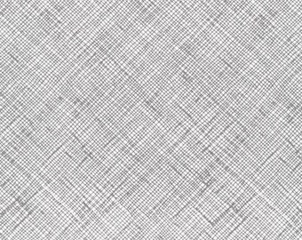 Architextures Crosshatch in Shadow, Carolyn Friedlander, Robert Kaufman Fabrics, 100% Cotton Fabric, AFR-13503-304 SHADOW