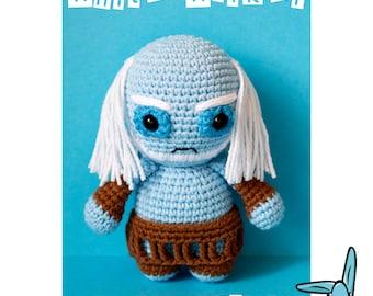 White Walker. Game of Thrones inspired character - amigurumi crochet pattern. Language - English