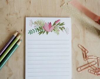 Notebook floral
