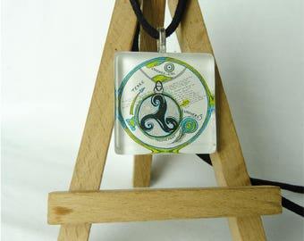Earth world / Original design pendant
