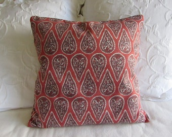 Anya Geranium decorative Pillow Cover 18x18 20x20 22x22 24x24 26x26