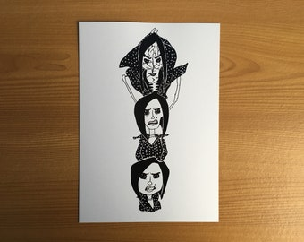 The Other Mothers Art Print A5 Print