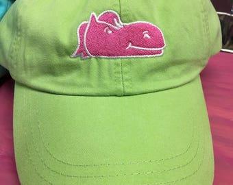 Lime Green Logo Adjustable Hat
