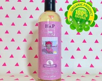 Lavender Crush - Organic Dog Shampoo - From Drab to Fab!