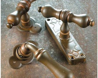 BERLIN-Wrought iron handle collection/Wrought Iron Door Handle Collection